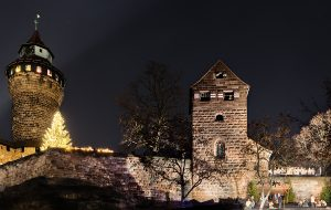 Picture of the nativity play underneath the Imperial Castle