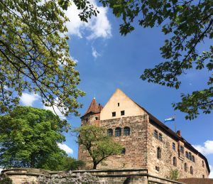 Picture of the Imperial Castle in Nuremberg