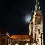 Church of St. Sebald at night