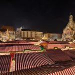 Christkindlesmarkt at night