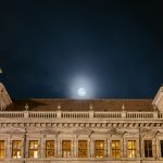 Fullmoon over the old town hall