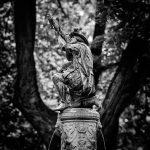 Statue of an archer