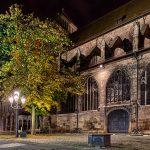 Lorenzkirche at night