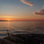Sunset at Lake Pyhäjärvi