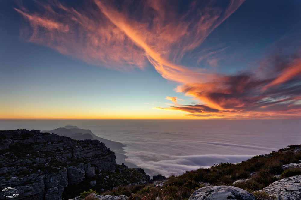 Sunset on Table Mountain