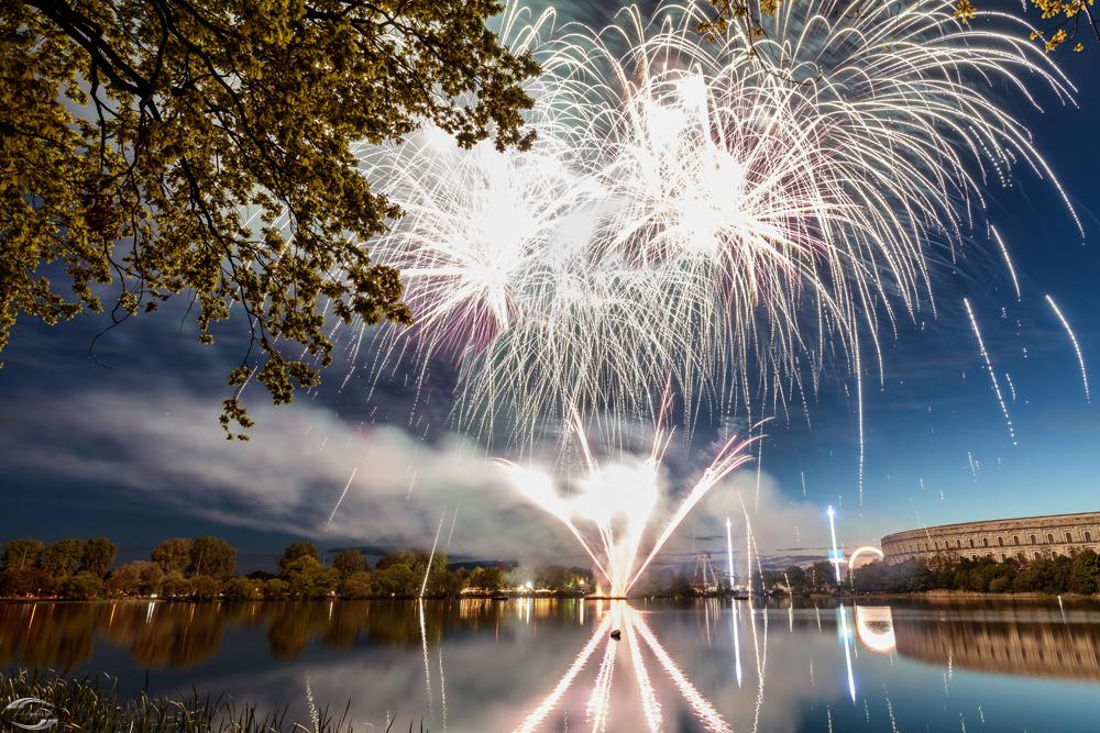 Fireworks over Dutzenteich
